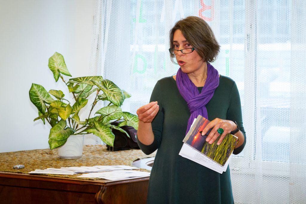 Csire Márta, a Bécsi Tudományegyetem Finnugor Tanszékének lektora